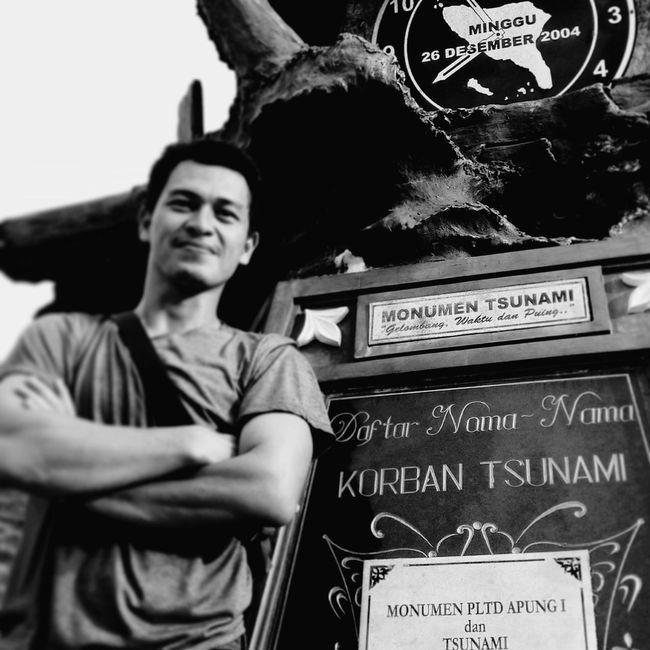 Memoriam at my town Banda Aceh Monument Tsunami INDONESIA