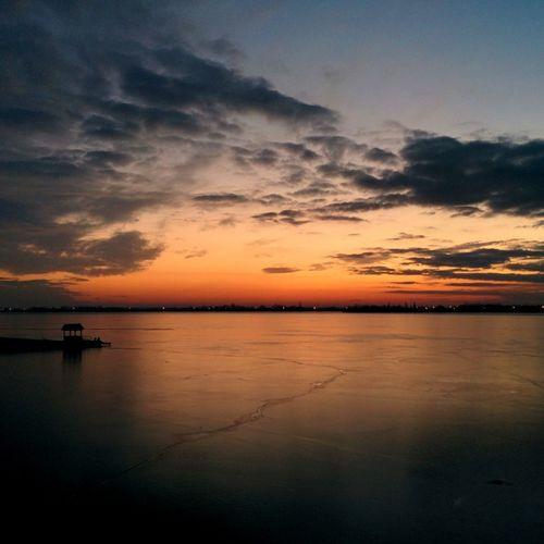Lake Palić. First Eyeem Photo Lake Lakes  Palić Sunset Nature