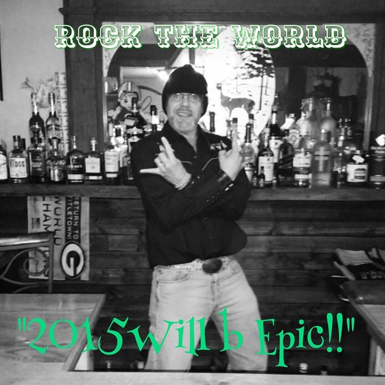 2015  will b Epic !! Rockon Happynewyears Bar Partylikearockstar Whiskeymakesmefriskey Insane Imbackinthenewyorkgroove Instakool Instafollow