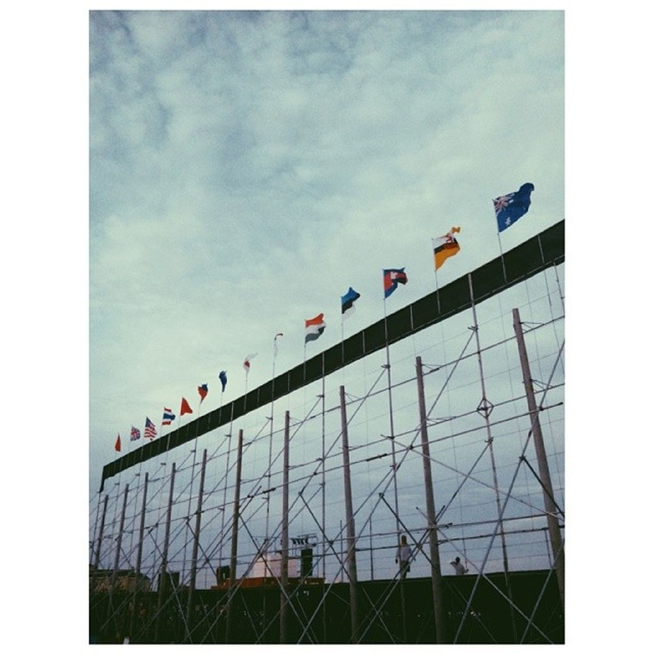 N A T I O N S Flags Backstage Sky LightOfPeace2014 WorldPeaceThroughInnerPeace IAmPieceOfPeace