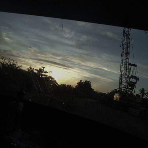 Silhouette Tree Sunset Cloud - Sky No People Sky Outdoors