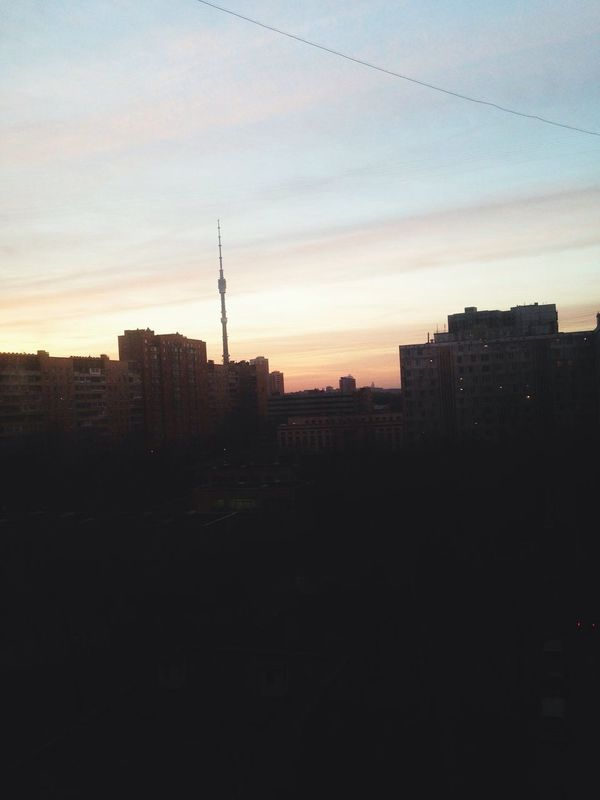 Morning останкинская башня Wake Up