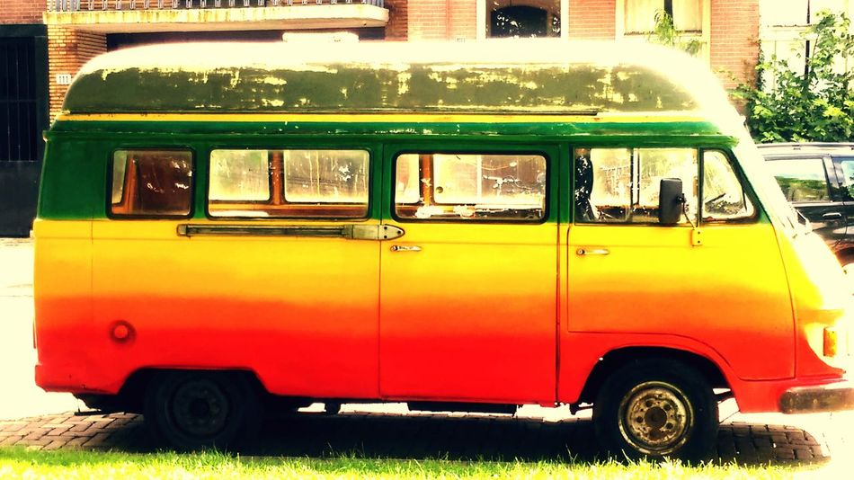 A ganja bus Amsterdam Amsterdamcity Farawayweekend Hanging Out Check This Out Taking Photos Relaxing Enjoying Life City Vehicle Original Funny Lifestyle Paint