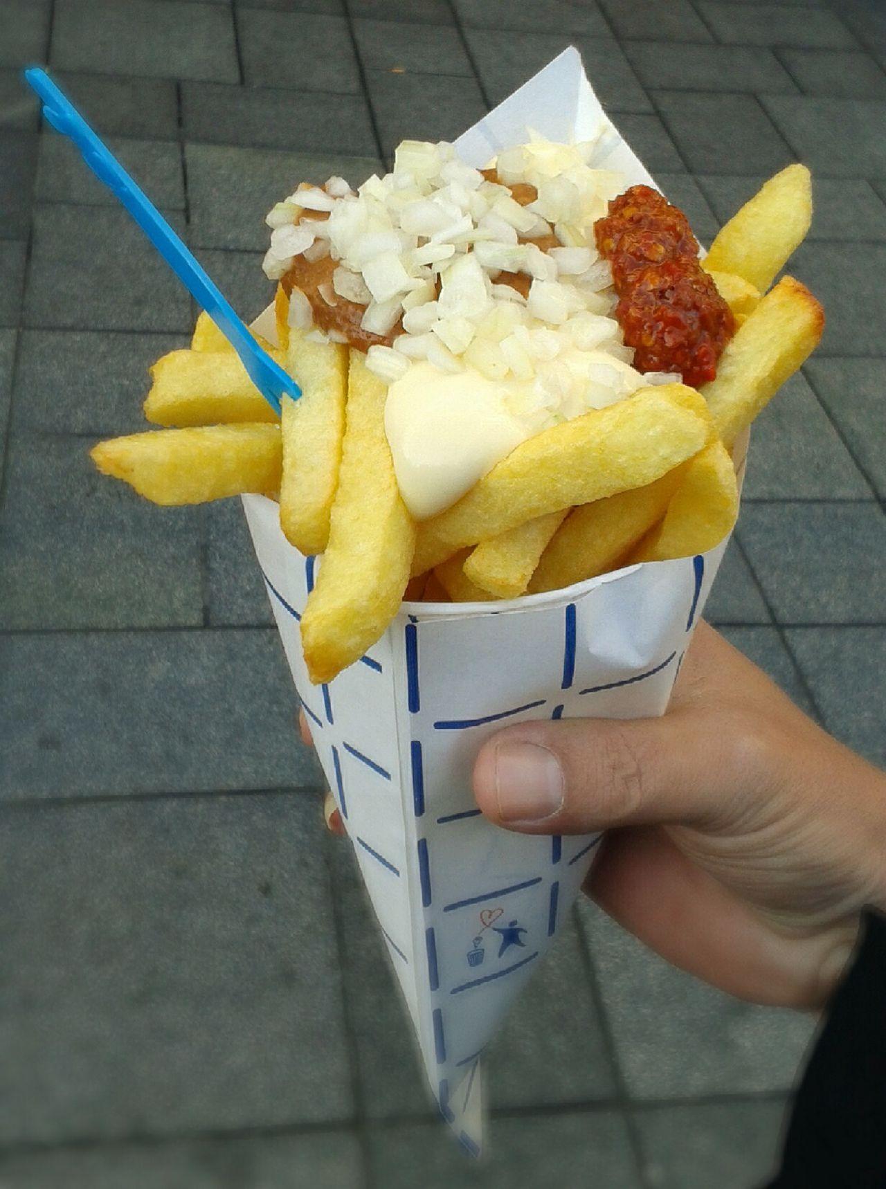 Dutch Food Foodporn Patat Oorlog French Fries