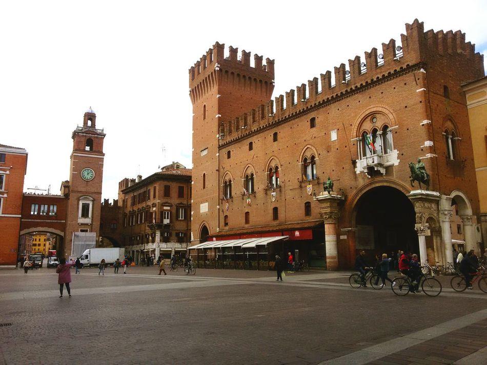 Architecture Ferrara Clouds Cityscapes Castello Estense Italy❤️ First Eyeem Photo