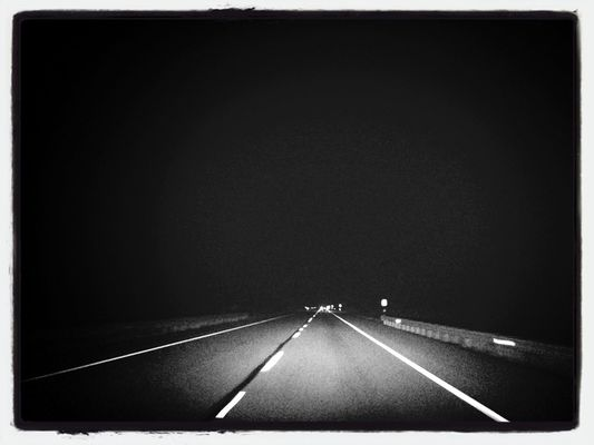 empty at Rt 84 by Robert Yaskovic