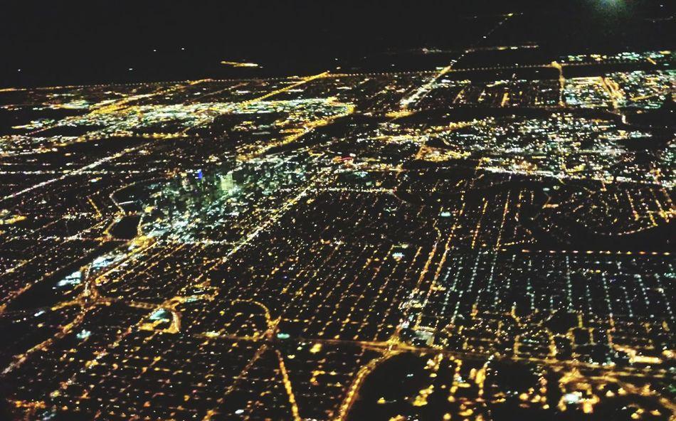 ✈️ Plane Downtowncalgary YYC Citylights