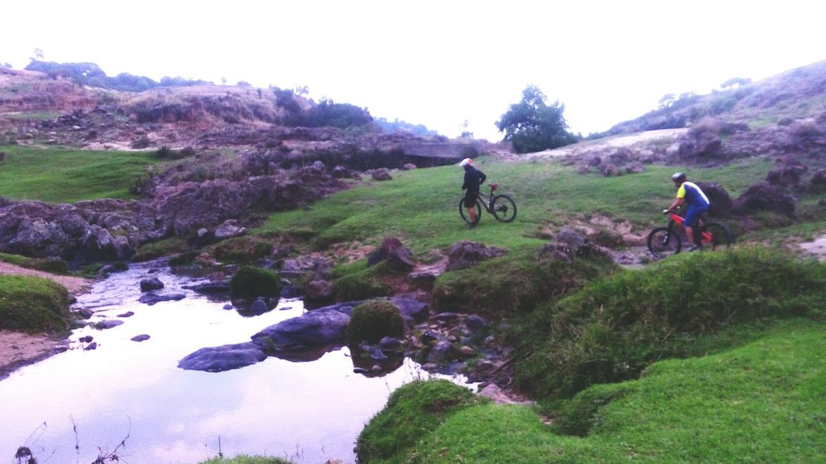Adventure Bicycle Riding Cycling Two People Healthy Lifestyle Tlaxcala Tlaxcalita La Bella RuedaEnTlaxcala Cmh Mexico