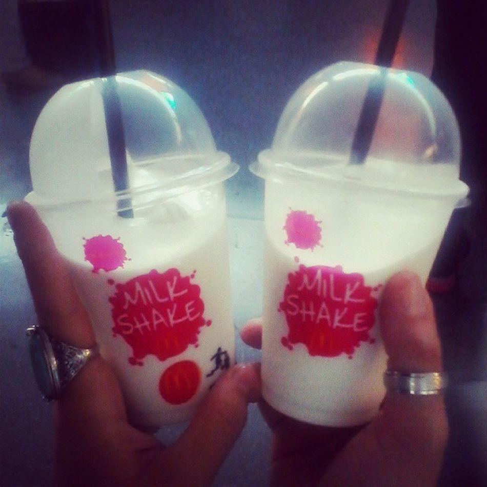 Milk_shake COCCO Mcdonalds Roma GnamGnam