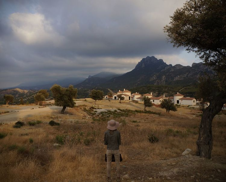 Cyprus Kyrenia Mountains Ruins Unfinished Work... Adult Beauty In Nature Besparmak Dusk Grass Landscape Mountain Nature North Cyprus One Person Outdoors People Real People Rear View Scenics Sky Standing Sunset Unfinished Building