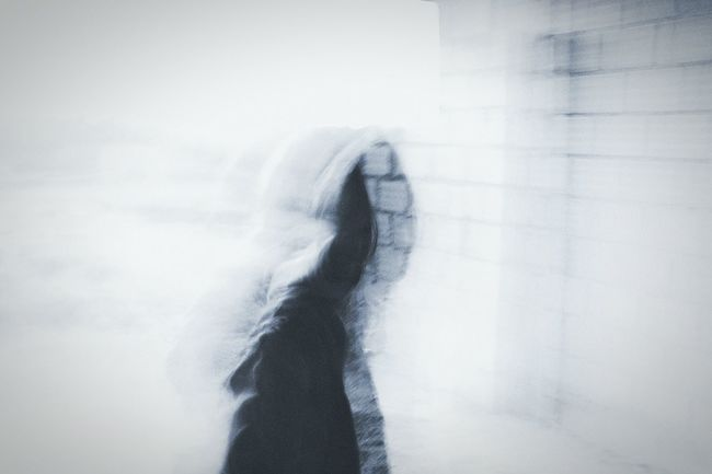 Hidden Faces Silhouette Wondering Mind, Wandering Soul. Soullessphotography It's Cold Outside Haunting Places Double Exposure Cold Days Mood Captures Portrait Of A Soul