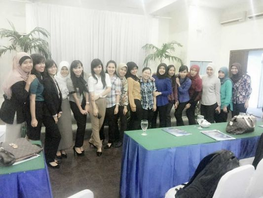 Training day at Sandjaja Hotel, 8th Floor Ballroom.. by Yunita Triwardhani