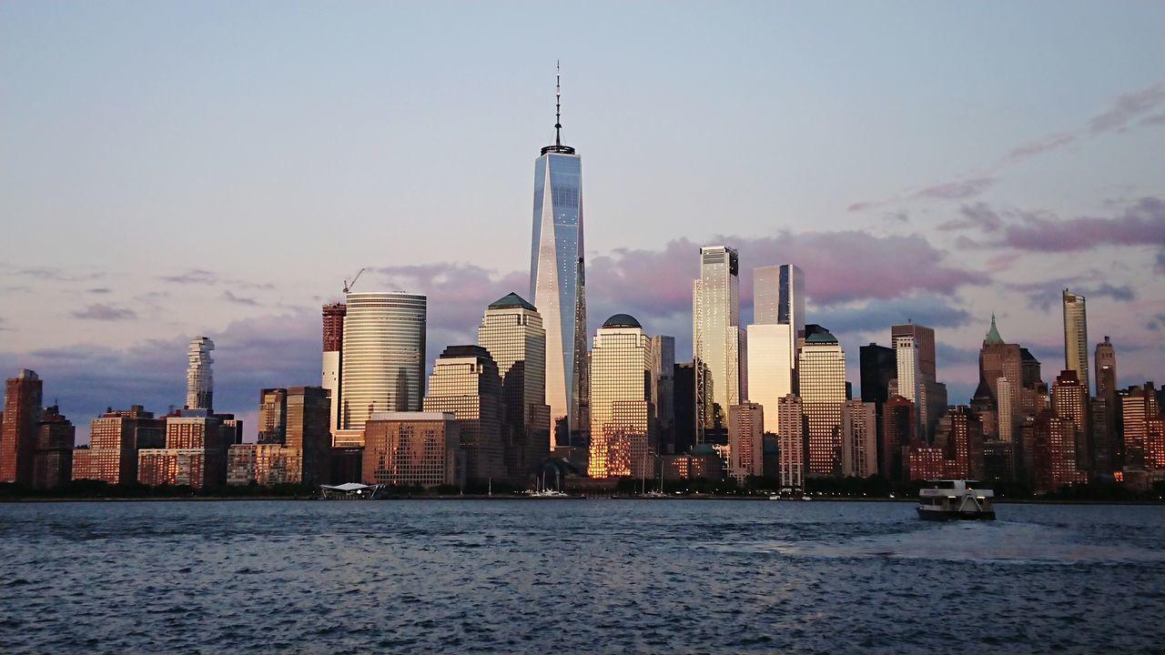 Sunset Manhattan Xperiaphotography Nofilter Jersey City New York City