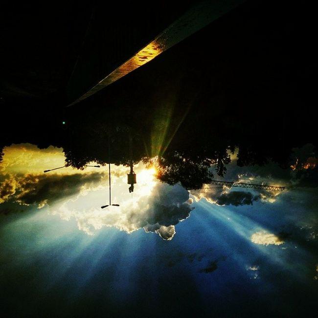 It's not right... Sunset ExploringJozi LG  G2 upsidedown