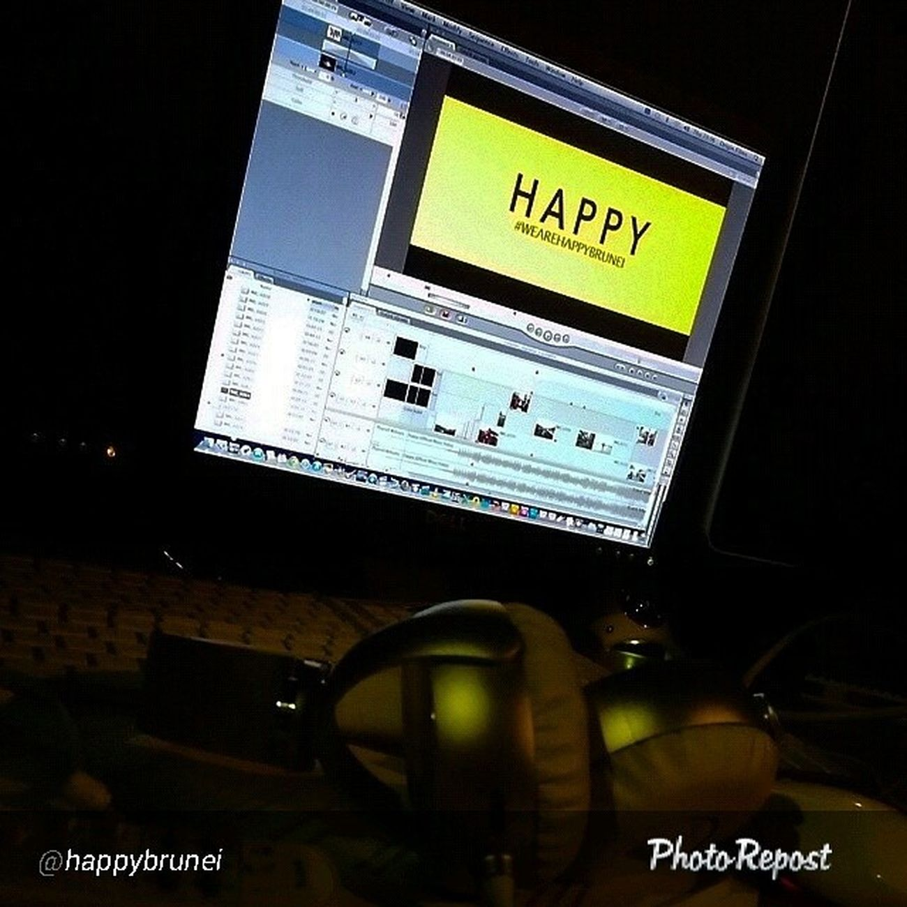 """By @happybrunei """"And the Happy Brunei video is DONE! Wanna watch it? Well you're gonna have to wait for a bit. We'll be premiering it via our YouTube page this Saturday 14th of June at 20:00 hrs (Brunei time). So make sure you subscribe to our channel Happy Brunei to get the notification when we upload it. We promise, you won't regret it! ☺ Wearehappybrunei HappyBrunei Brunei """" via @PhotoRepost_app"""