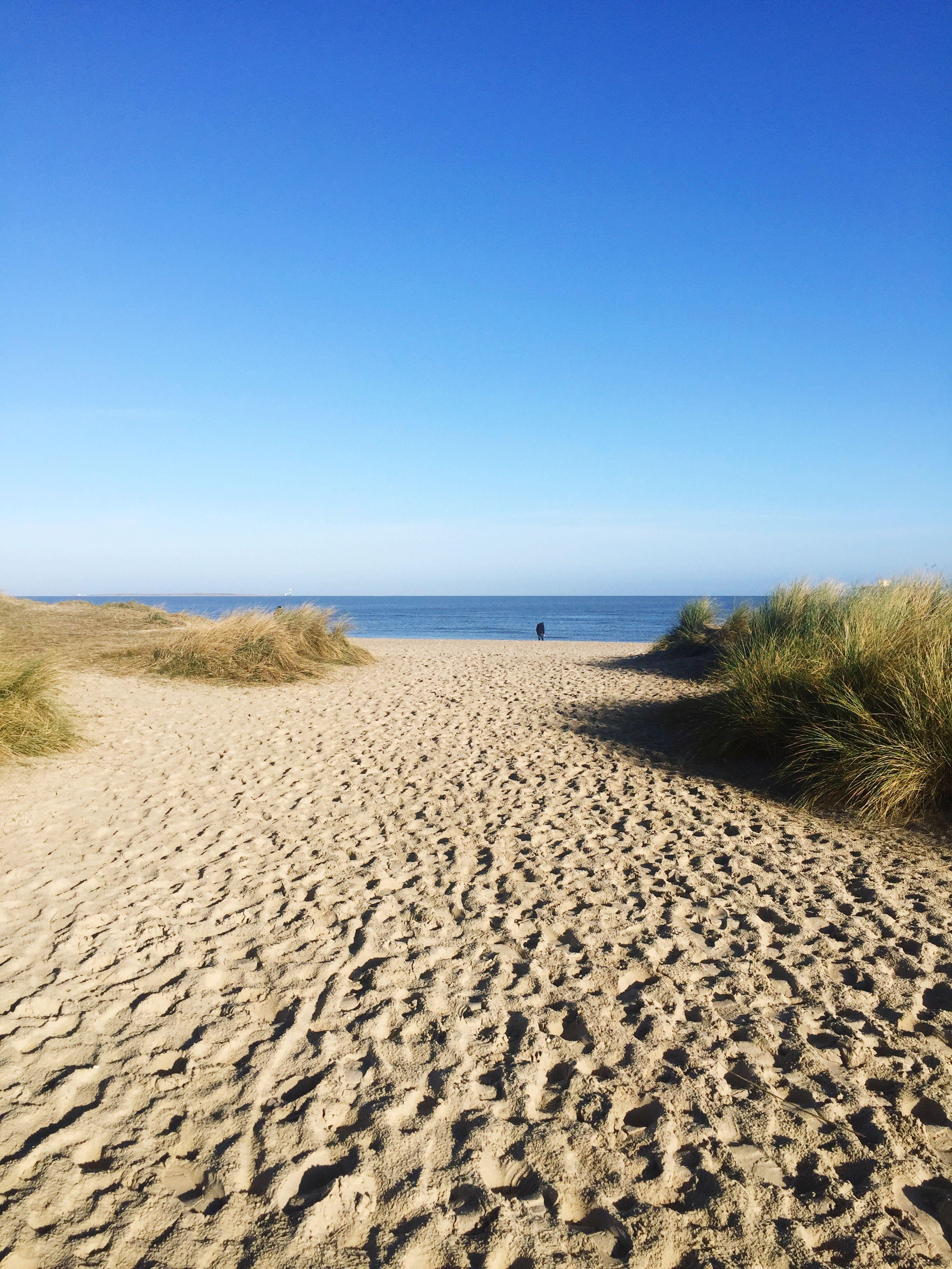 Sundays At The Beach In November Northern Sea