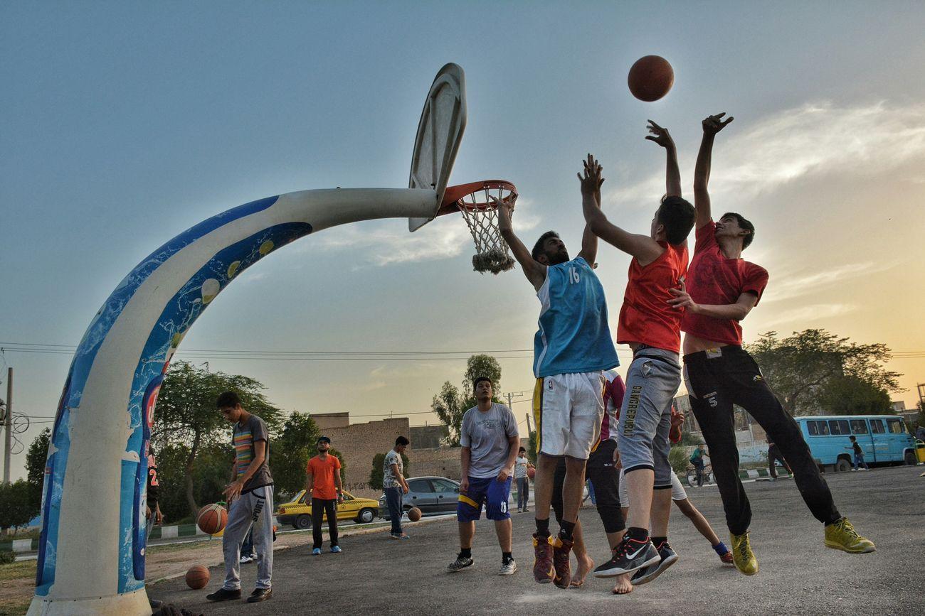 Basketball Streetbasketball Abadan City Iran