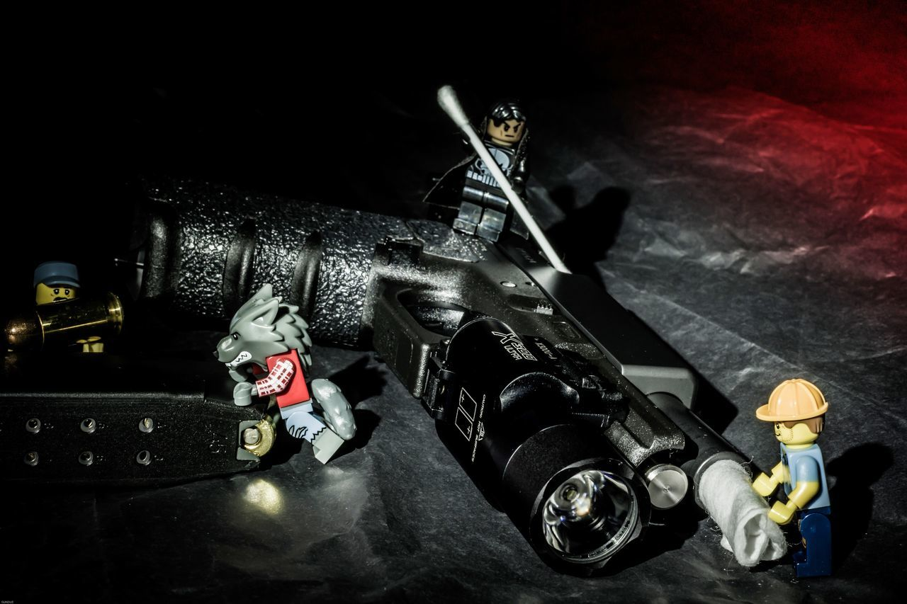 No People Indoors  Horizontal Close-up Black Background Day Guns Gunspictures Night Gunslinger  Legophotography Legominifigures