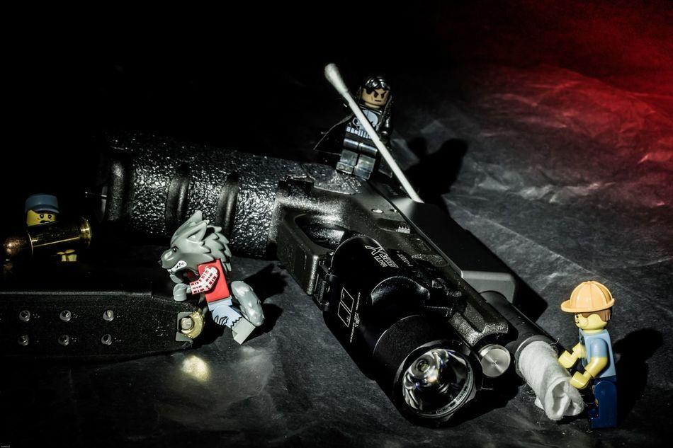 No People Indoors  Horizontal Close-up Black Background Day Guns Gunspictures Night Gunslinger  Legophotography Legominifigures