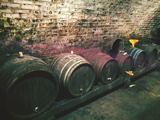 Wine Cellar Winery Wine Cask Winemaking Day No People Wine Barrel Outdoors Cellar Close-up Keg