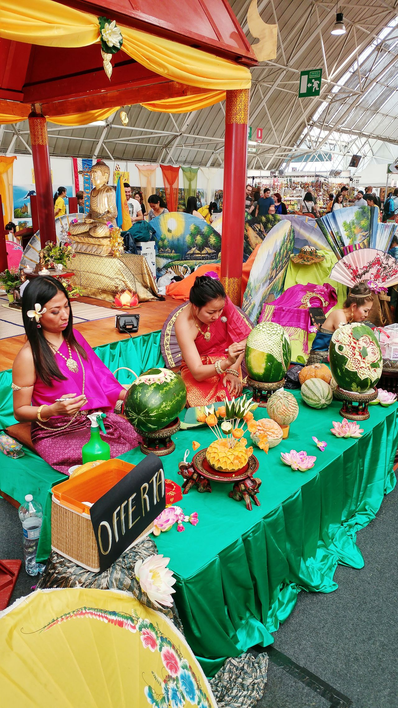 Thai Women Oriental Festival Workinonit WaterMELONS Watermelonlove