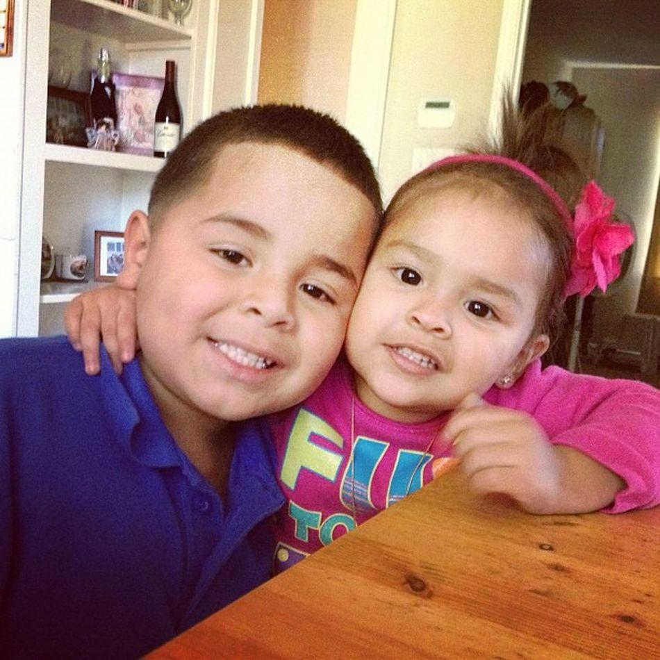 Cousins  Cute Lailajayne Isaias :)