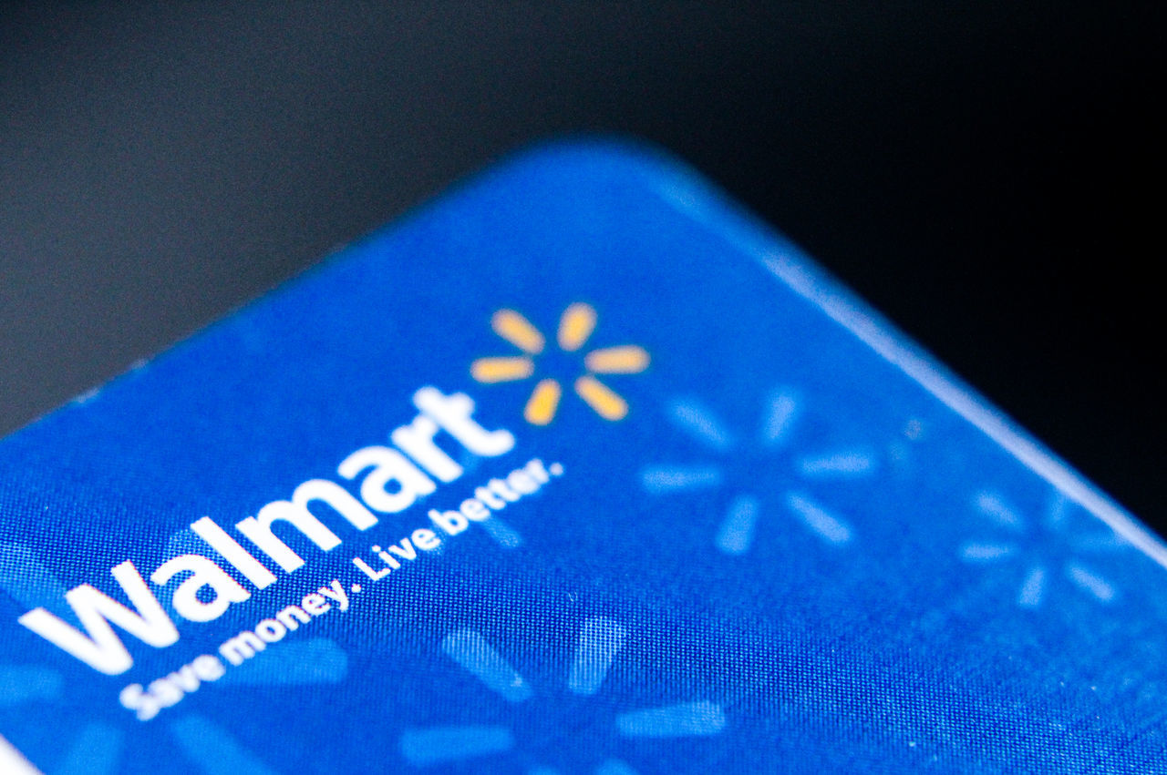 Blue Cheap Close-up Communication Creativity Credit Card Finance Focus On Foreground Grocery Grocery Shopping Grocery Store Ideas Identity Indoors  Message Money Produce Shopping Sign Success Sunday Text Walmart Walmart Family Western Script