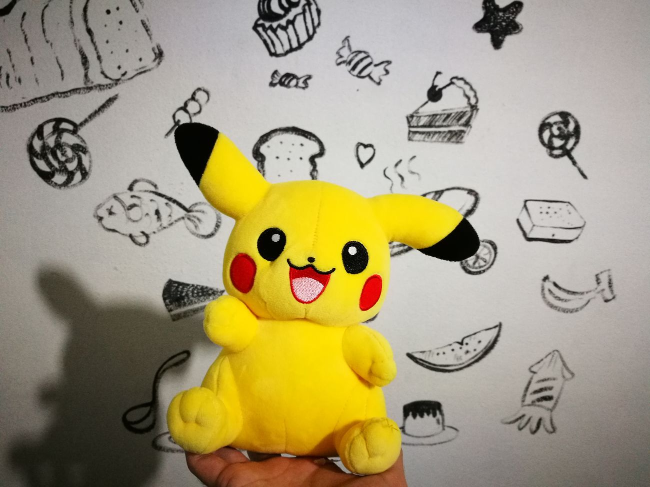 My roommate. Pikachu Thailand Bedroom