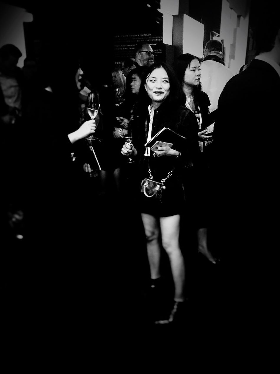 Girl Party People China Photos Shanghai, China Blackandwhite Eye4photography