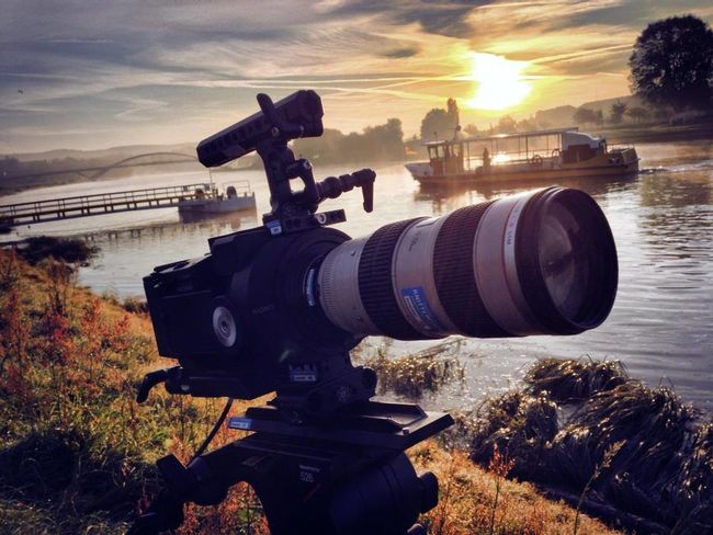 Life on set filmset behind the scenes knitterfisch Elbe dresden fairy Knitterfisch