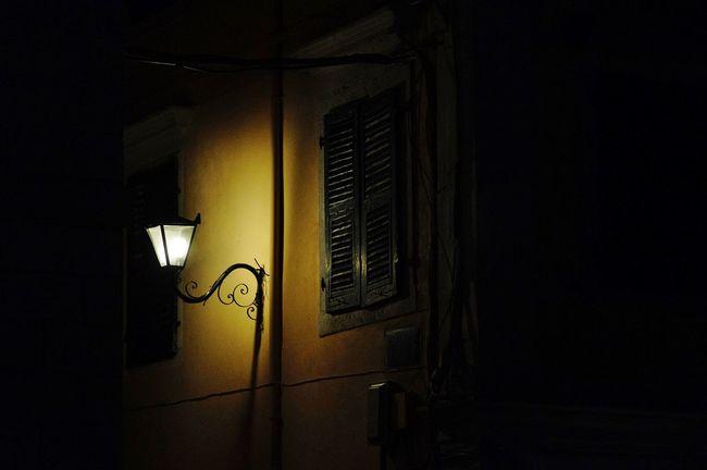 laterne Dark Electricity  Façade Greece Idyllic Illuminated Lamp Lantern Laterne Light Light And Shadow Lighting Equipment Low Angle View Night Night Lights Night Photography Nightphotography Outdoors Streetphotography