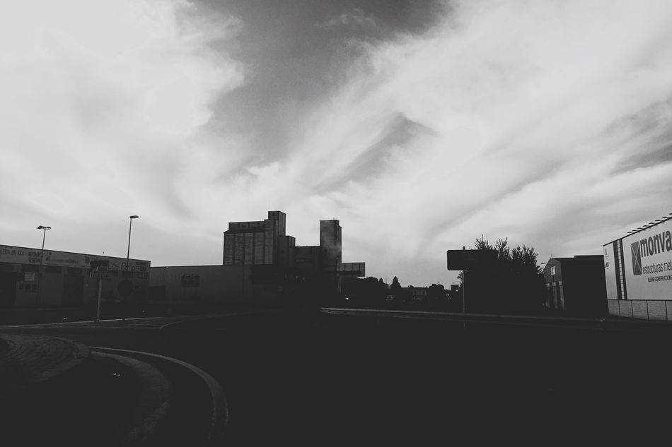 Black And White Monochrome Roadtrip On The Road Iphone6 IPhoneography Blackandwhite