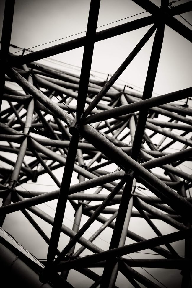 Low Angle View Built Structure Architecture Outline Day Architectural Feature No People Geometric Shape Sky
