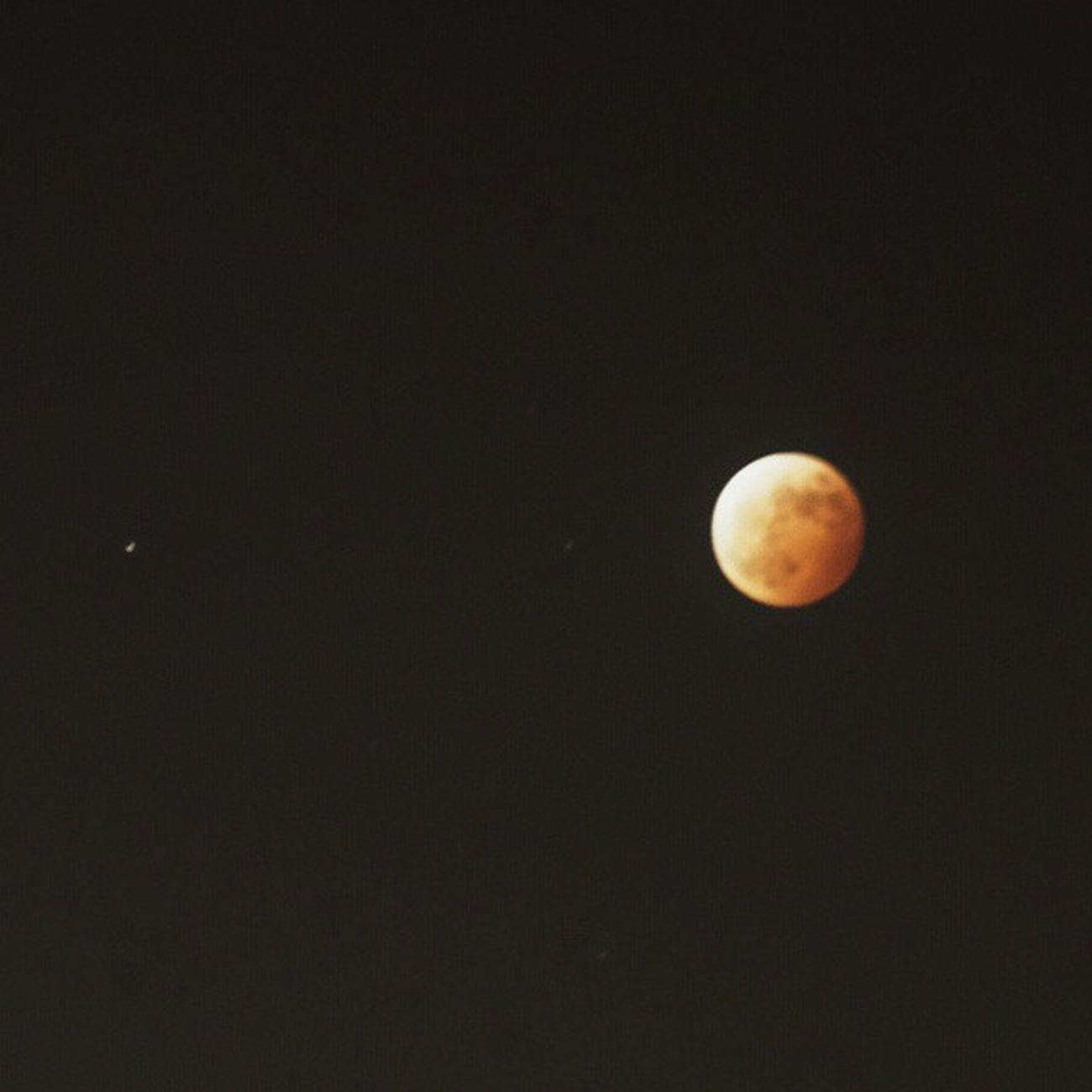 云层太厚,真不好 月食 红月亮 Redmoon