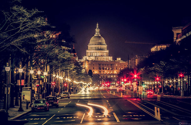 before the noise will start again at Washington DC by Kasia