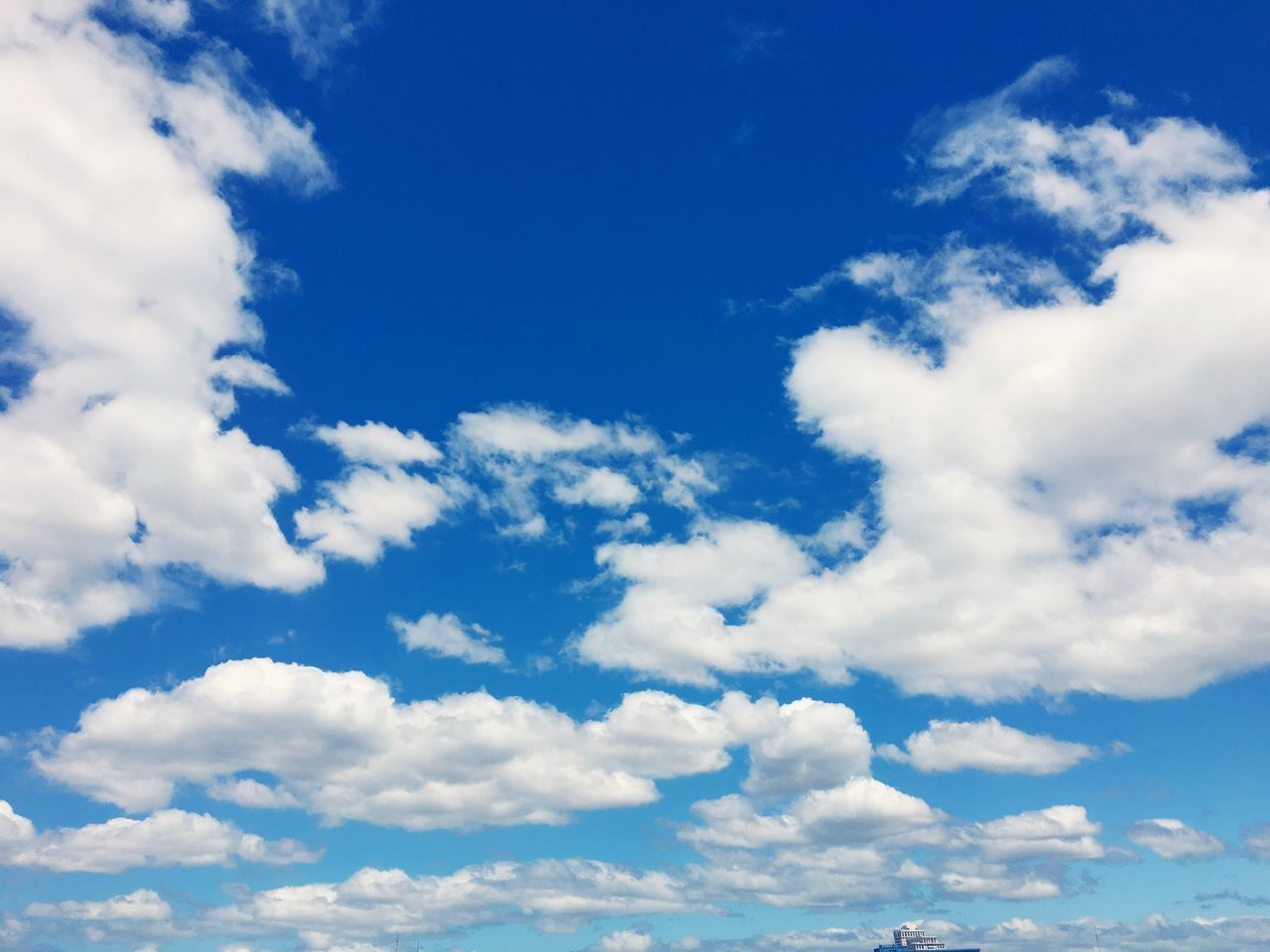 Sky Cloud - Sky Blue Nature Low Angle View Cumulus Cloud Cloudscape Fluffy Tranquility Backgrounds Beauty In Nature Day Scenics Sky Only No People Outdoors