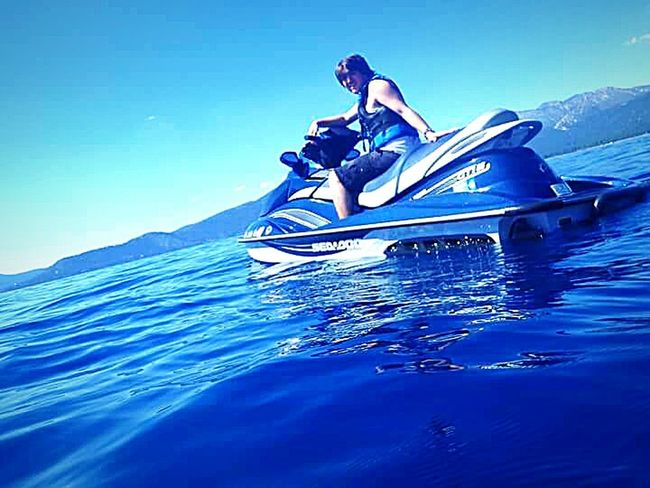 The Essence Of Summer The Following Enjoying Life Sierra Nevada Mountains Mountains And Sky Water Sports My Son ❤ Vacation Time ♡ Taking Photos ❤ Clear Blue Water Outdoor Photography Lake Tahoe Water Photography Having Fun With Kids Jet Skiing Waterproof Camera Lake Tahoe Water Sports Relaxing Moments Water Swimming In The Lake My Happy Place