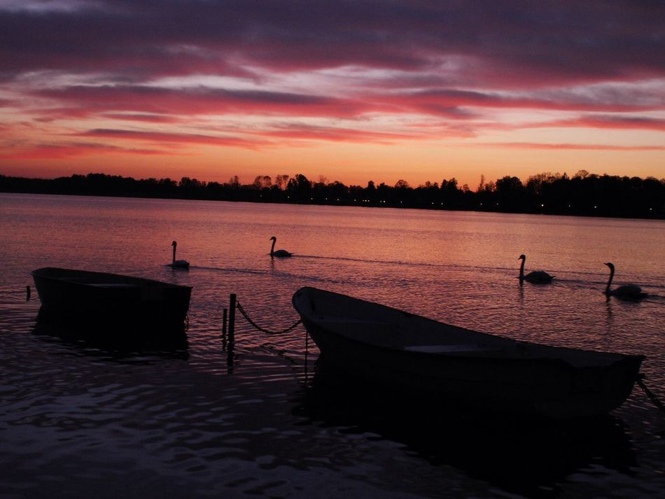 Ostróda, Poland. Drweckie lake.