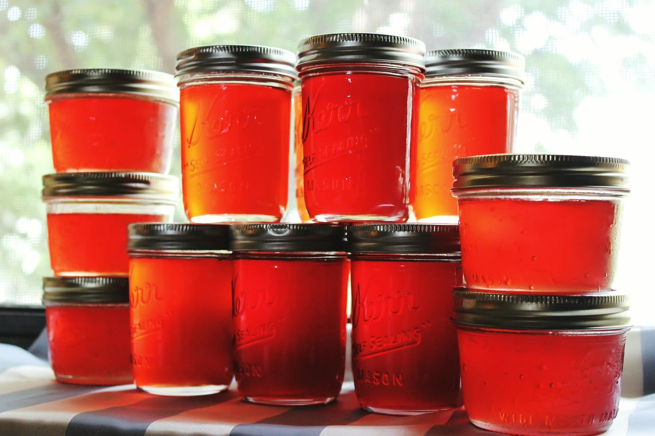 Jelly Plum Jelly Homemade Homemade Food Plum Mason Mason Jar Canning Colour Of Life Color Palette