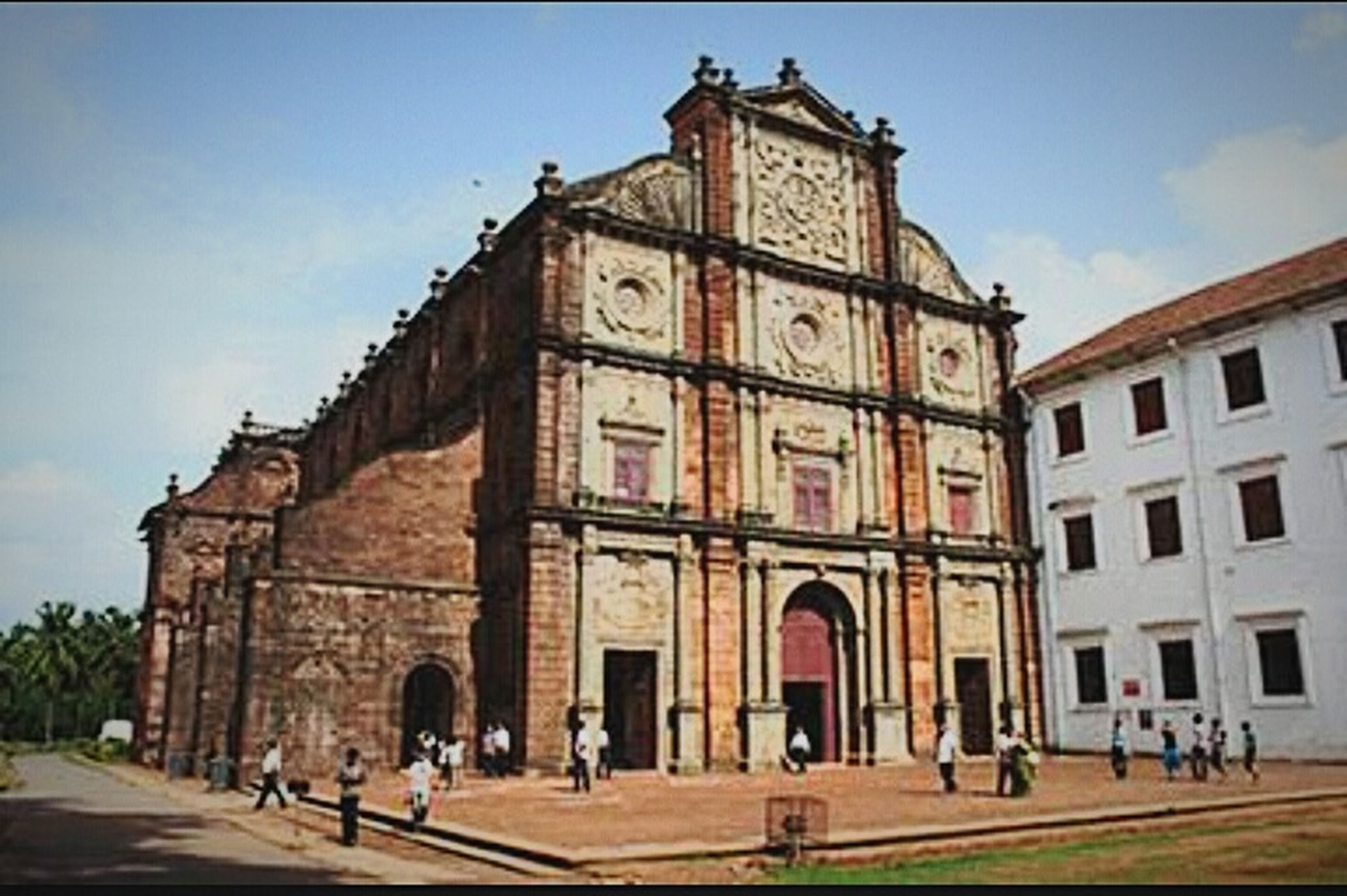 Bomb Basilisk Church. Travel Destinations Architecture Religion Low Angle View History Place Of Worship
