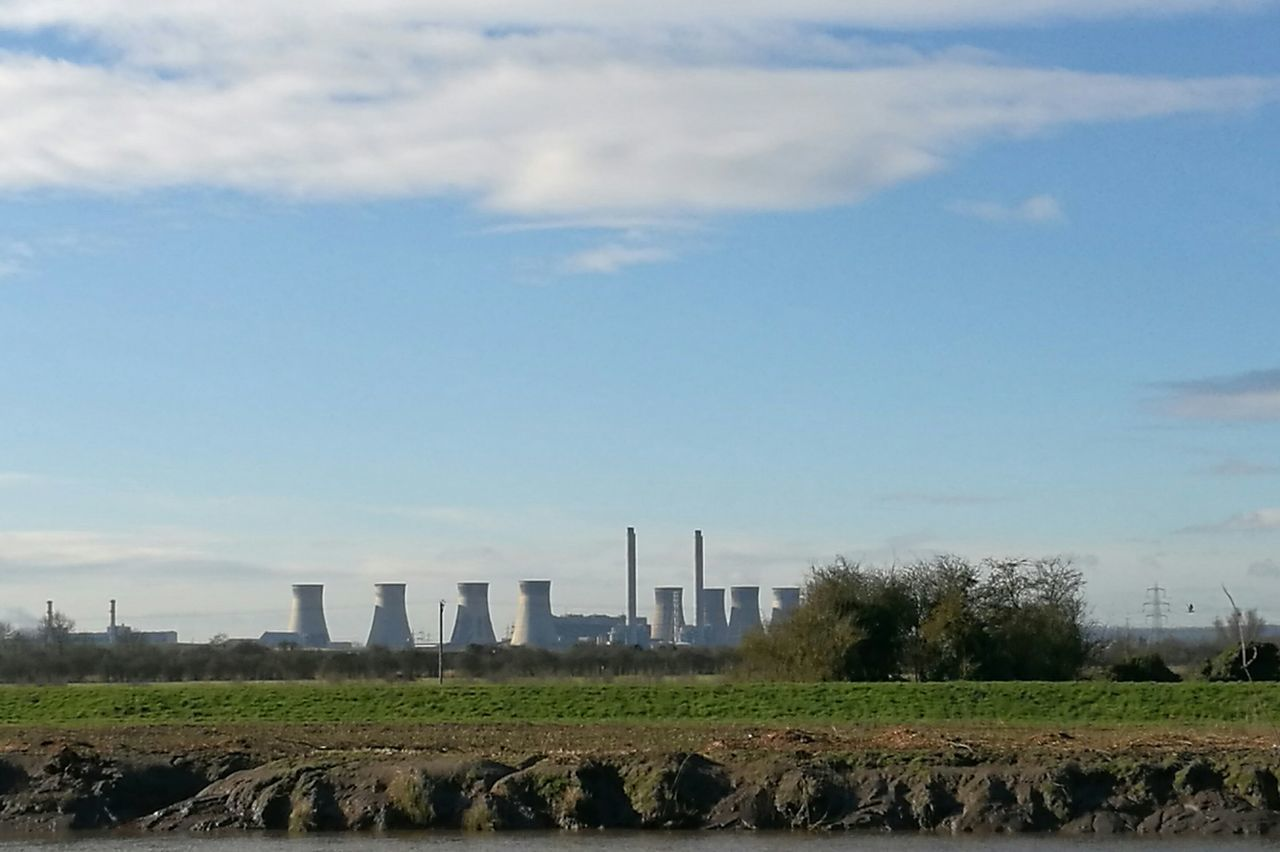 Power Powerplant Powerstation Industry Meets Nature Rural Scene Agriculture Factory Sky No People Outdoors Day Electricity  Electricity Pylon Cooling Tower Cooling Towers Blue Sky Industrial Industrialbeauty Built Structure EyeEmNewHere EyeEm Nature Lover EyeEm Best Shots EyeEm Gallery