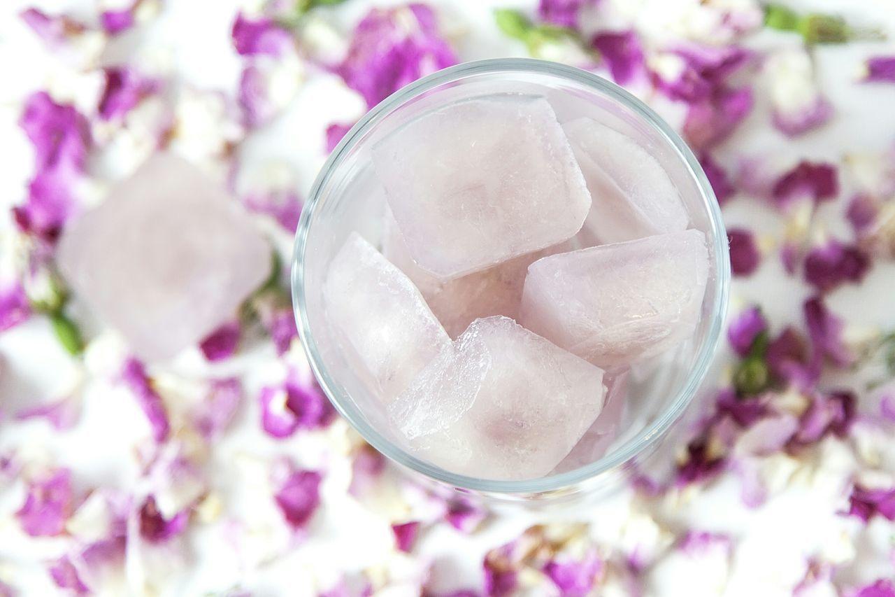 шиповник лепестки лед косметический лед уход за кожей красота и здоровье Briar Brier Hedge Rose Wild Rose Dogrose Leaves Ice Cosmetic Ice Skin Treatment Skin Care Petals