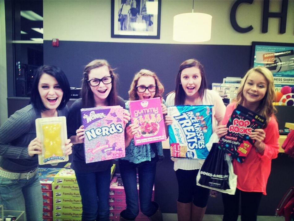 giant candy on news year (: