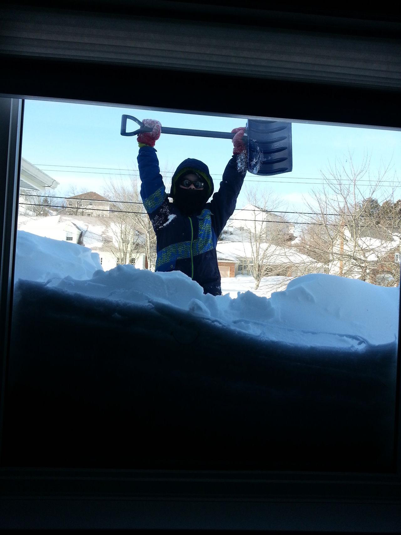 Winter Winteroutsidemywindow Digging Out Snowstorm Man Vs Nature Man Versus Nature Manvsnature  Shovelling Out Shovelling
