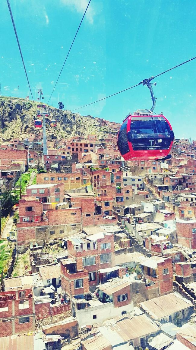 Lapazcity HighHeels High Up Awesome_view Veryhigh Transportation Overhead Cable Car Orangehouse