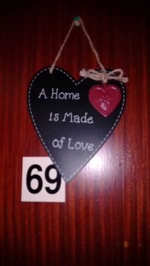 69th Celebration Close-up Day Hanging Heart Shape Holiday Indoors  Love No People Red Romance Text
