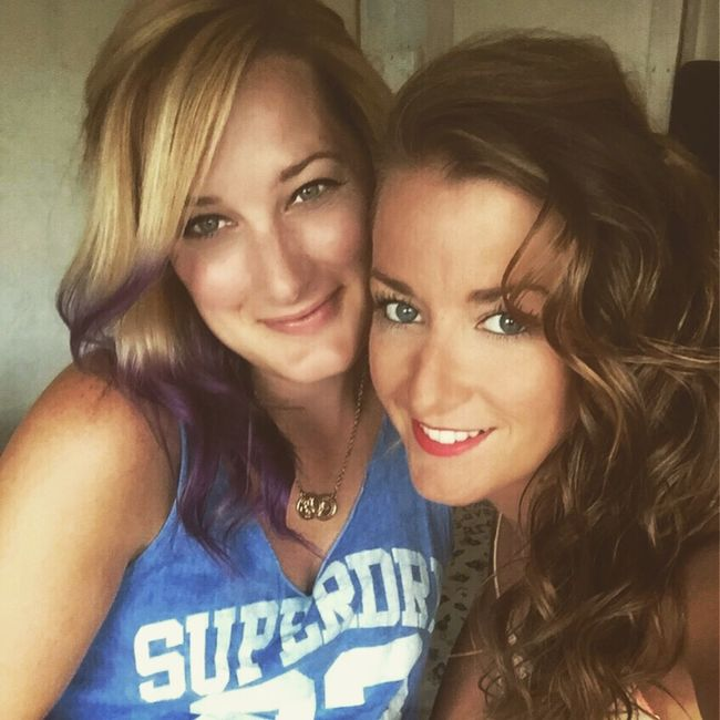 Family LoveMySister❤ Sister Sibling Purplehair Curlyhair