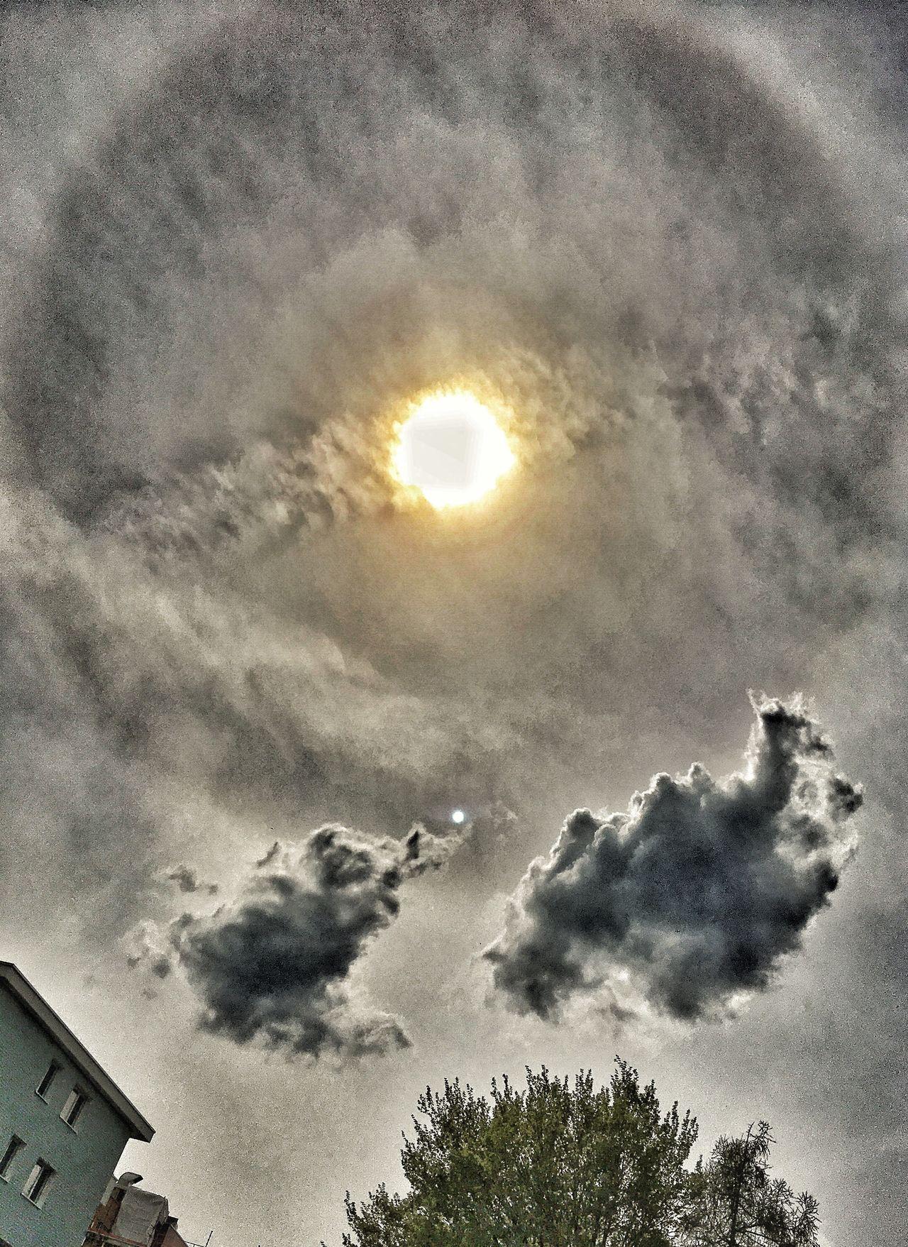 Halo Taking Photos Interesting Perspectives Himmel Und Wolken Himmelskunst HALOS