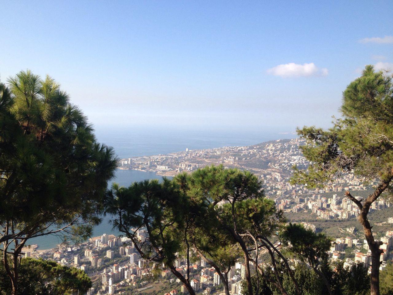 Harissa Jounieh Bay Lebanon East Mediterranean