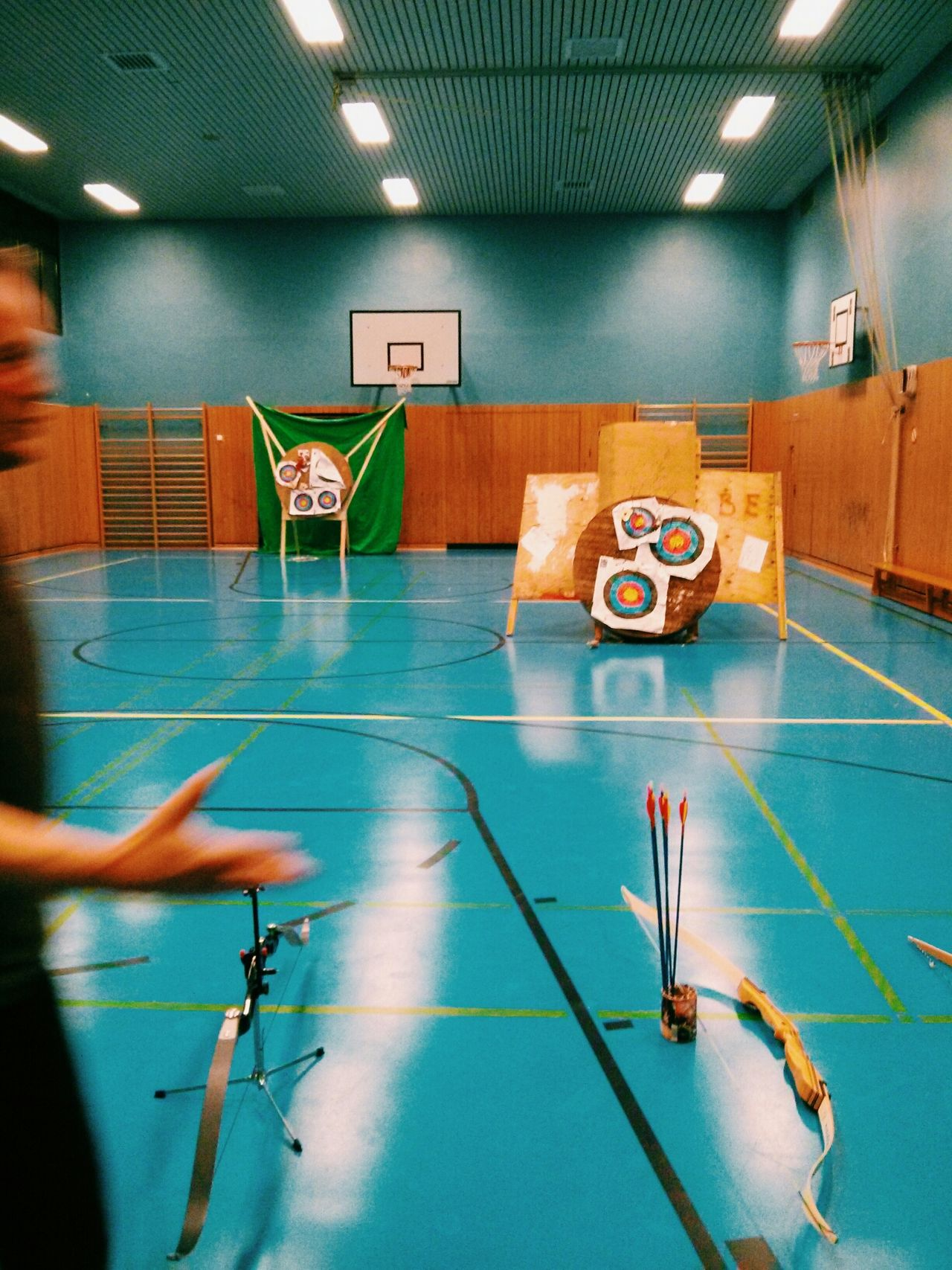 Training Archery Vscocam Winter